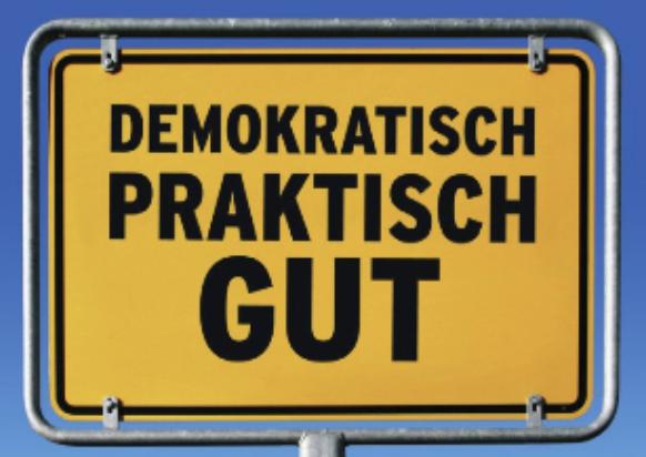 Demokratisch Praktisch Gut