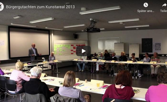 Planungszelle und Buergergutachten in München zum Kunstareal